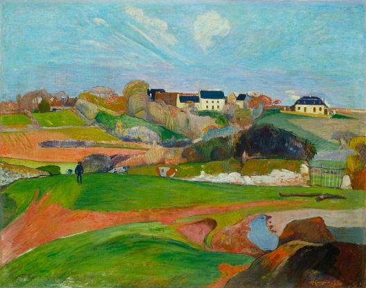 'Paysage au Pouldu' Paul Gauguin 1889 {{PD}}
