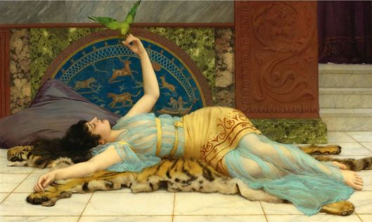 John William Godward - Dolce Far Niente (1897) {{PD}}