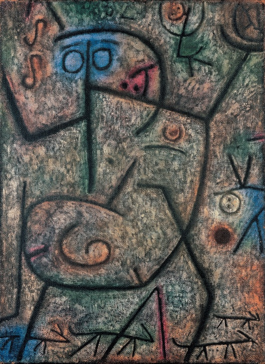 Paul Klee - 'Oh! These Rumors!' 1939 {{PD}}