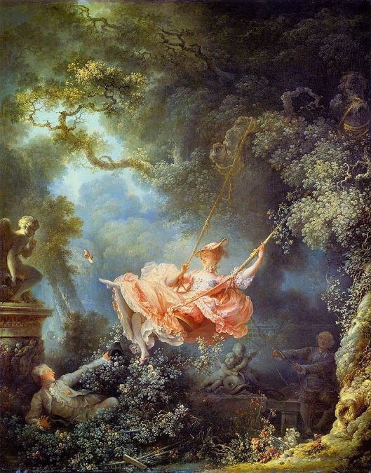 Kick off your shoes and enjoy life! Jean-Honoré Fragonard {{PD}}