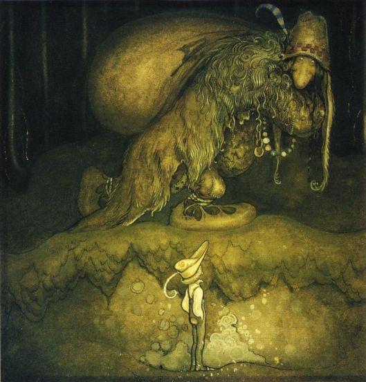 John Bauer - Bland tomtar och troll, 1915 {{PD}}