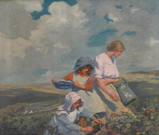 Elizabeth Forbes - 'Blackberry Gathering' c1912 {{PD}}