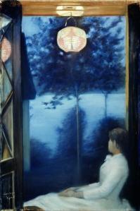 Oda Krohg - 'A Japanese Lantern' 1886 {{PD}}