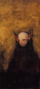 The monster in this case may be our avoidance of responsibility for our own situation. Odilon Redon {{PD}}