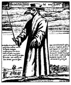 No plague doctors for you this year, Leo! Paul Fürst 1656 {{PD}}