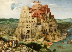 Pieter Bruegel the Elder - 'The Tower of Babel' 1563 {{PD}}