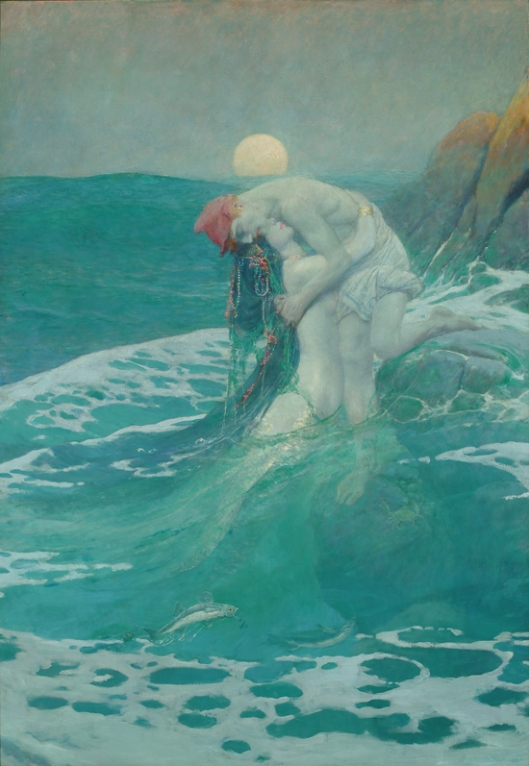 'The Mermaid' Howard Pyle 1909 {{PD}}