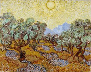 Vincent van Gogh 'Olive Trees' 1888 {{PD}}