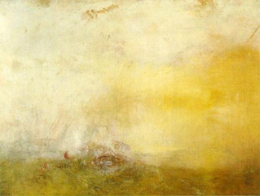'Sunrise With Sea Monsters' J. M. W. Turner c1845 {{PD}}