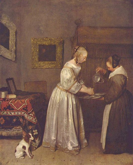 Gerard ter Borch 17th century {{PD}}