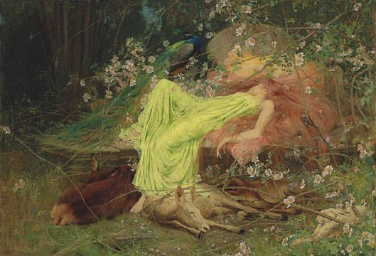 Arthur Wardle - 'A Fairy Tale' {{PD}}