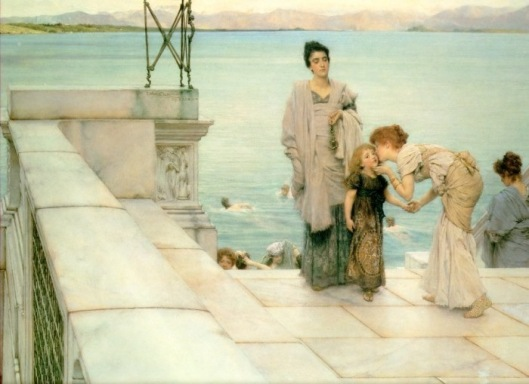 Lawrence Alma-Tadema 'A Kiss' {{PD}}