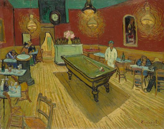 Le café de nuit (The Night Café) by Vincent van Gogh {{PD}}