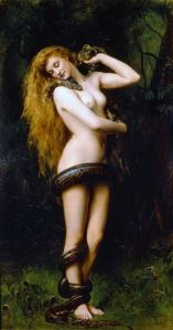 'Lilith' John Collier 1891 {{PD}}