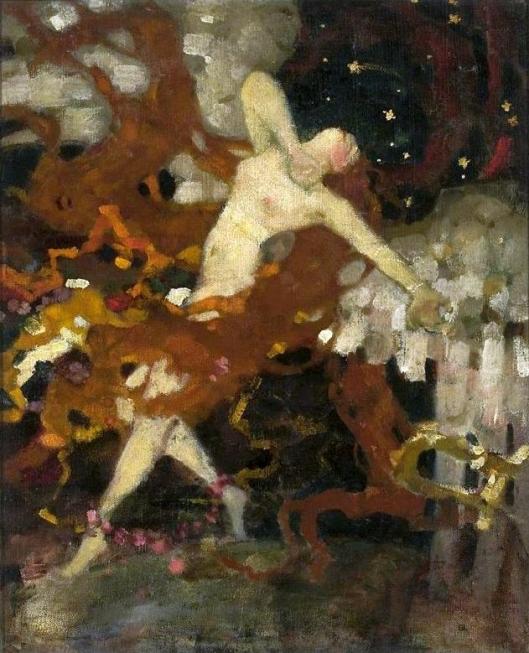 'Angel of Love' Eligiusz Niewiadomski c1900 {{PD}}