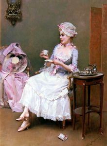 'Hot Chocolate'  Raimundo de Madrazo y Garreta before 1920 {{PD}}