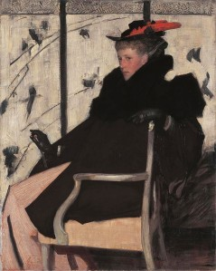 'Mlle. Plume Roug' 1896 Thomas Austen Brown {{PD}}