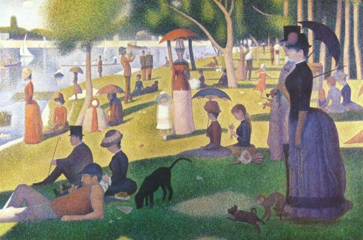 By Georges Seurat - The Yorck Project: 10.000 Meisterwerke der Malerei. DVD-ROM, 2002. ISBN 3936122202. Distributed by DIRECTMEDIA Publishing GmbH., Public Domain, https://commons.wikimedia.org/w/index.php?curid=158909