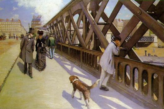 Le Pont de l'Europe (1876) Gustave Caillebotte {{PD}}
