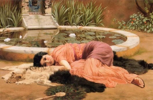 By John William Godward 1903- {{PD}}