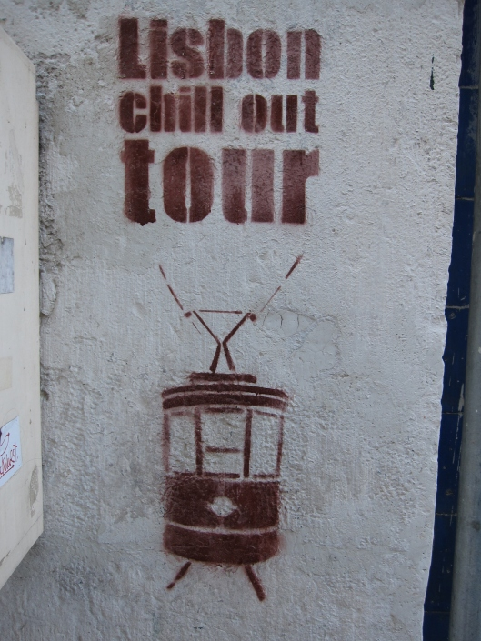 "Lisbon ""chill out"" street art, Uploaded by tm Author: Bernt Rostad from Oslo, Norway Creative Commons Attribution 2.0 Generic"