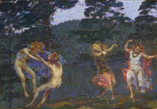 By Martin Brandenburg 'Elfenreigen', um 1906/09 {{PD}}