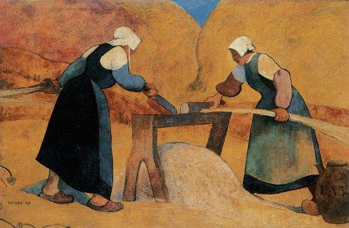 Meijer de Haan 'Les Teilleuses de Lin' 1889 {{PD}}