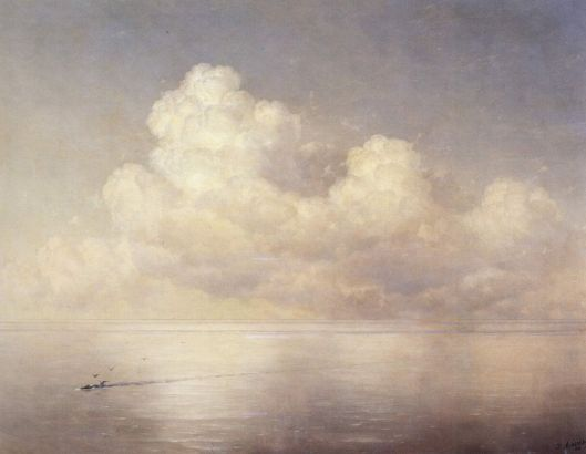 'Clouds over the sea' 1889 Ivan Aivazovsky {{PD}}