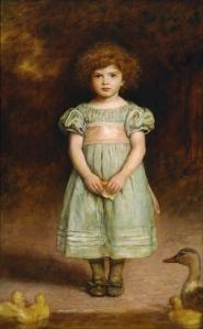 John Everett Millais - 'Ducklings' 1889 {{PD}}