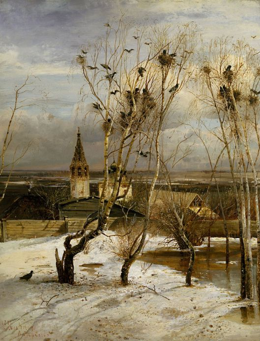 By Alexei Savrasov - qgEUs-kiMGydOg at Google Cultural Institute, Public Domain, https://commons.wikimedia.org/w/index.php?curid=13500799