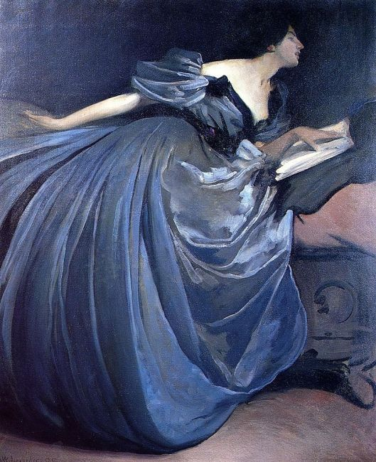 'Althea' JW Alexander 1894 {{PD}}