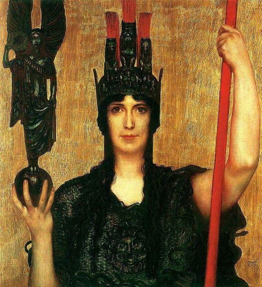 'Pallas Athena' Franz von Stuck, 1898 {{PD}}