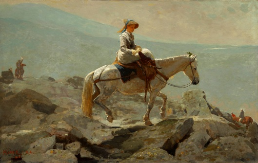 Winslow Homer 'The Bridle Path, White Mountains' 1868 {{PD}}