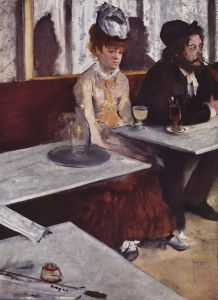 'L'Absinthe', by Edgar Degas1875 {{PD}}