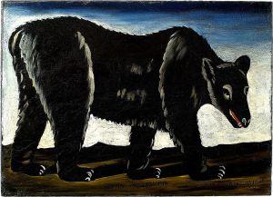 Niko Pirosmani 'Black Bear' {{PD||