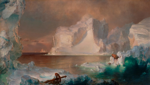 'The Icebergs' Frederic Edwin Church 1861 {{PD}}
